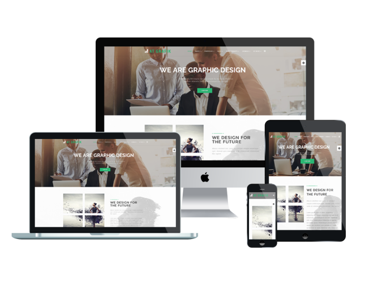AT Grafik Free Joomla! template