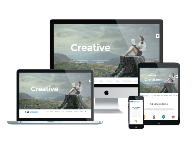 AT Services Free Joomla! template