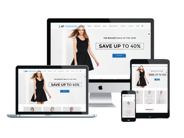 AT Fashion Free Joomla! template