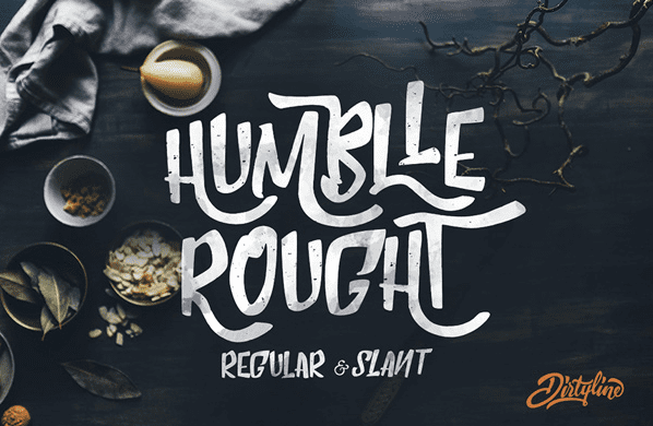 FREE FONT – HUMBLLE ROUGHT