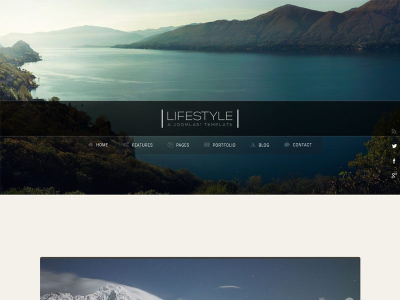 Lifestyle Blog Free Bootstrap Template