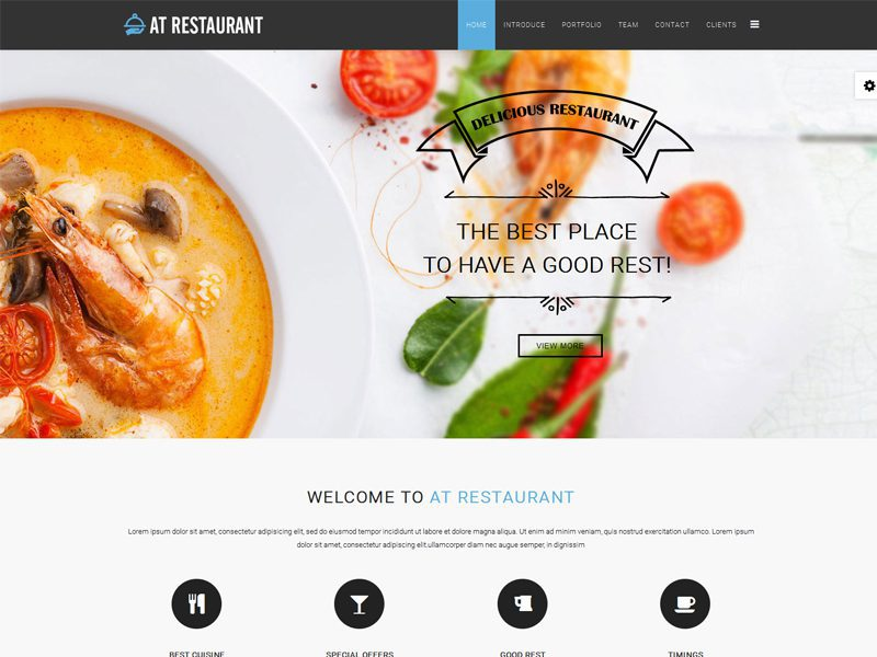 top 6 best free joomla templates for restaurant in 2016 freemium