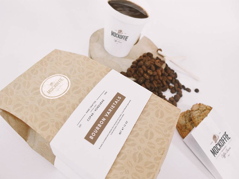 Coffee House Free Mock-up Template