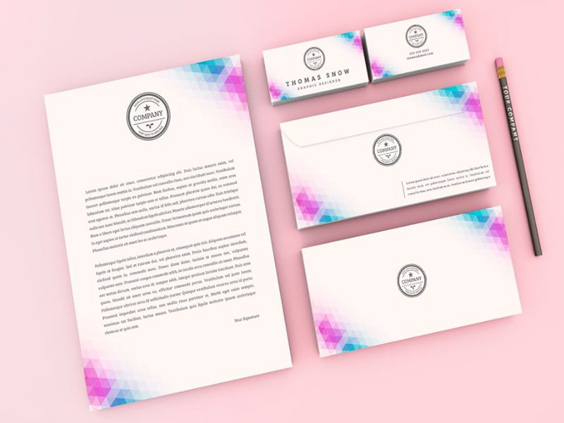 Company Stationery Free Download Mockup