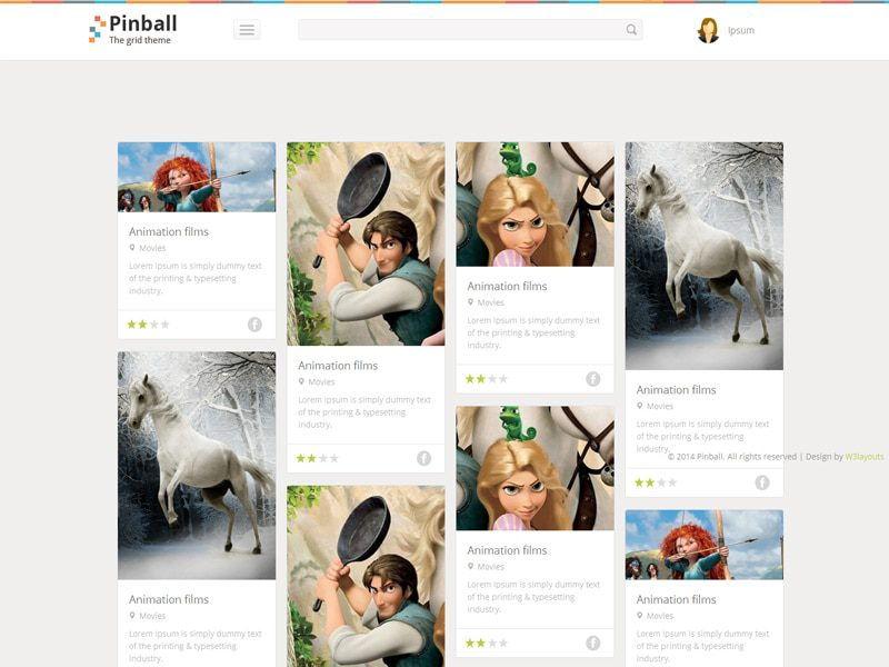 Pinball Free Bootstrap Template For Blog
