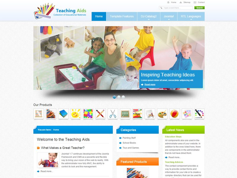 6 best free joomla education templates in may 2016 freemium download jm teaching aids free joomla school website template maxwellsz