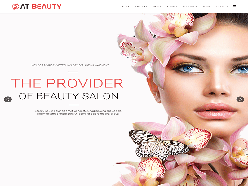 AT Beauty – Free Joomla Onepage For Spa / Beauty