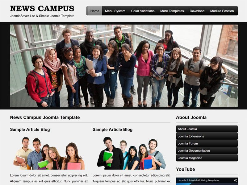 6 best free joomla templates for education in june 2016 freemium jsr news campus free education joomla template maxwellsz