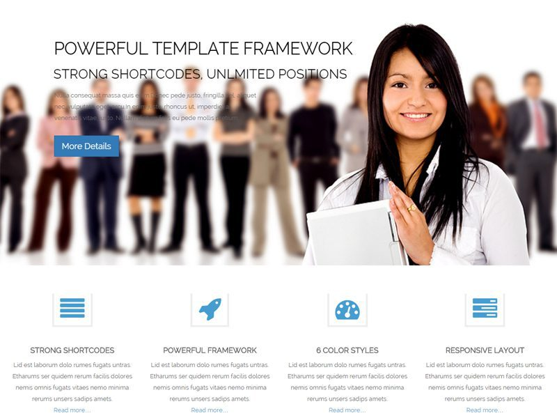 LT Business WordPress Theme For Business