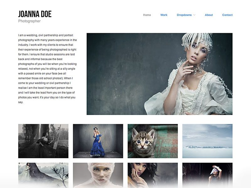 Hatch Download Free WordPress Theme For Photography