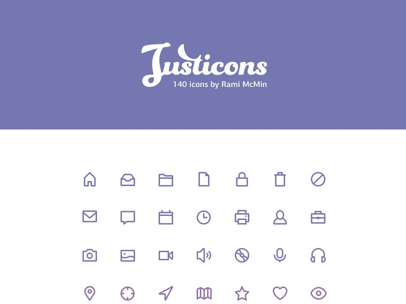 Justicons Free Icons