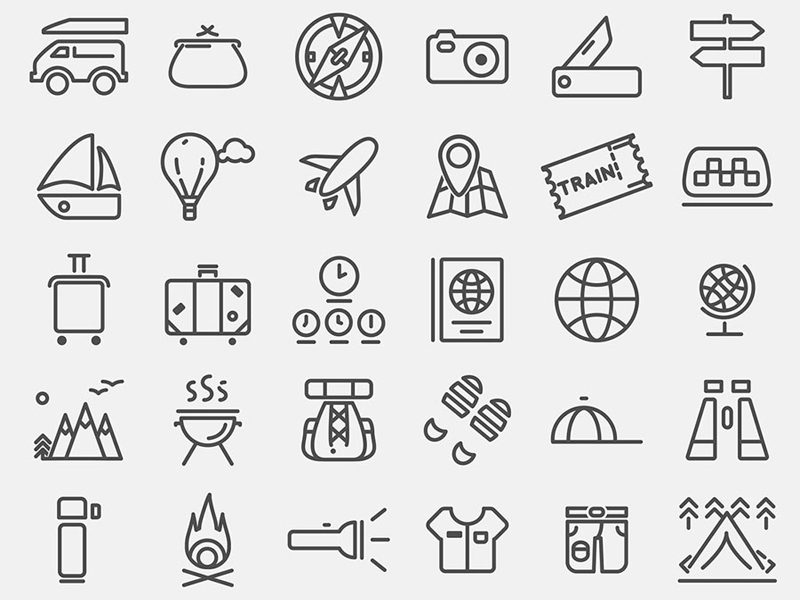 Travelling Free Icons For Website