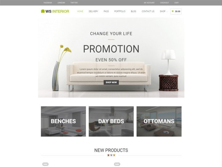 WS INTERIOR FREE WORDPRESS WOOCEMMERCE THEME FOR INTERIOR