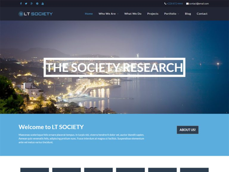 LT SOCIETY FREE CORPORATION WORDPRESS THEME
