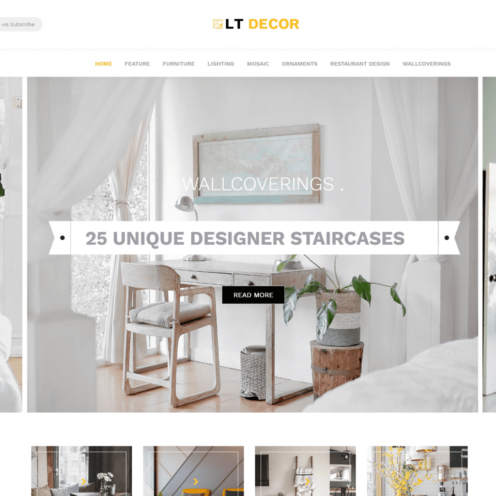 LT DECOR FREE WORDPRESS INTERIOR DECORATING THEMES