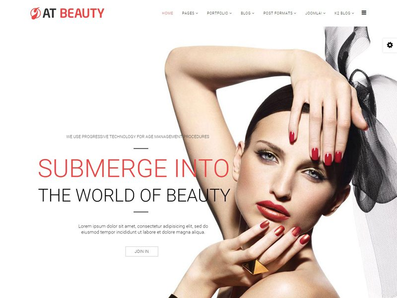 AT BEAUTY FREE SPA BEST JOOMLA TEMPLATE