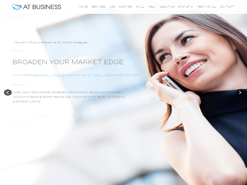 AT BUSINESS – FREE JOOMLA TEMPLATE FOR BUSINESS , CORPORATION