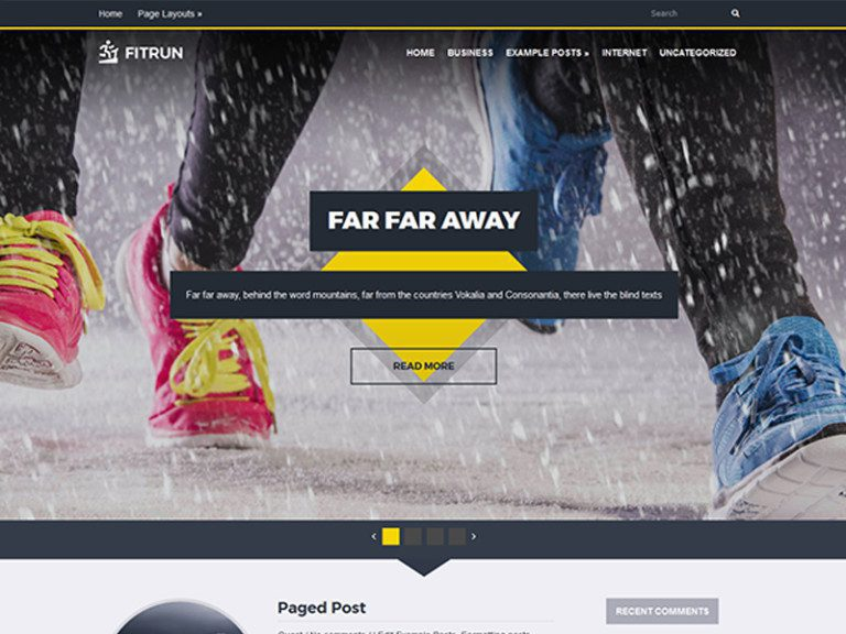 FITRUN FREE WORDPRESS THEME FOR SPORT