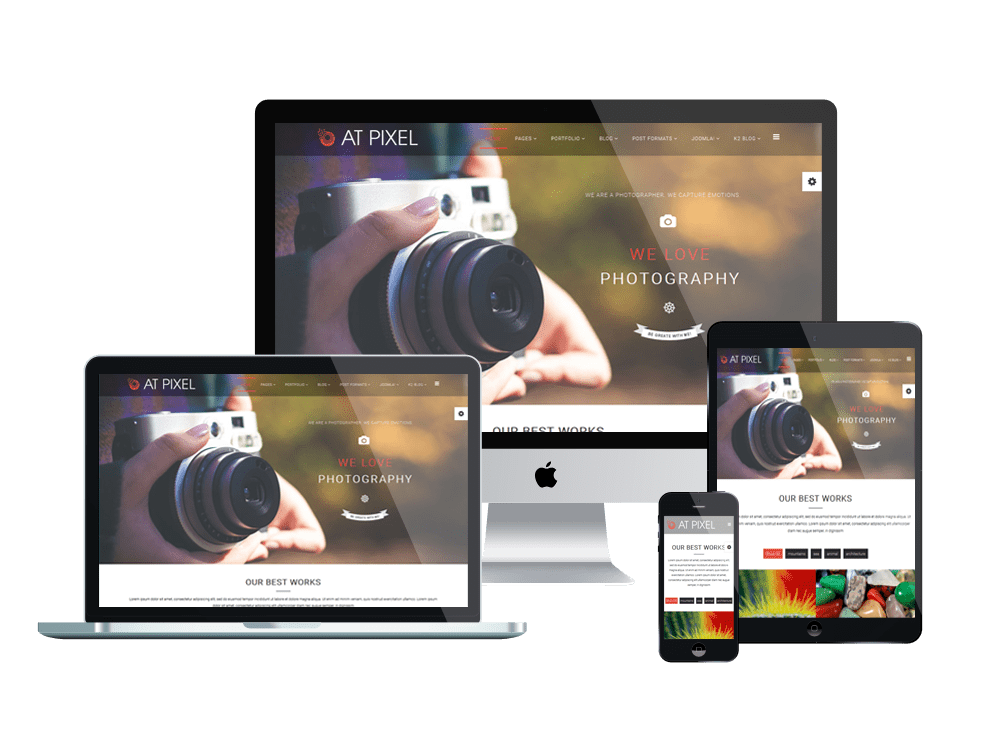 AT PIXEL ONEPAGE FREE PHOTOGRAPHY JOOMLA TEMPLATE