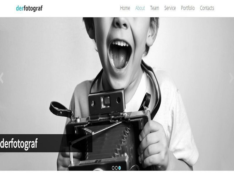 DERFOTOGRAF – JOOMLA TEMPLATE FOR PHOTOGRAPHERS FREE
