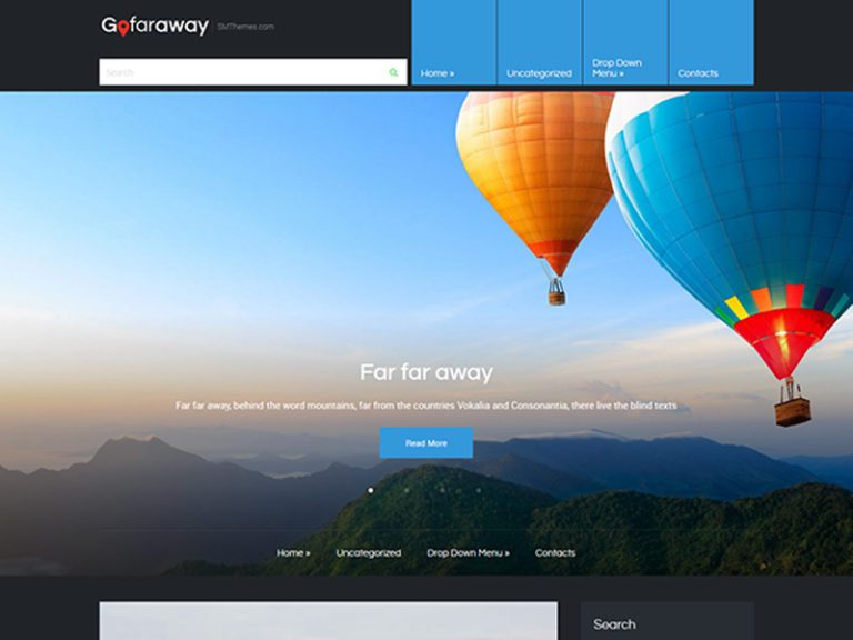 GOFARAWAY WORDPRESS TRAVEL THEME