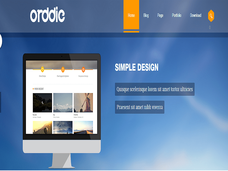 ST ODDIE – SIMPLE DESIGN JOOMLA TEMPLATE PHOTOGRAPHY