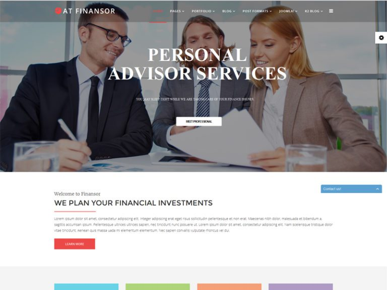 AT FINANSOR FREE RESPONSIVE FINANCIAL ADVISOR JOOMLA TEMPLATE