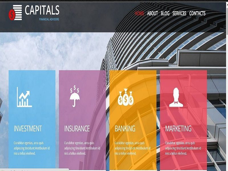CAPITALS – JOOMLA TEMPLATE FREE FOR CONSTRUCTION COMPANY