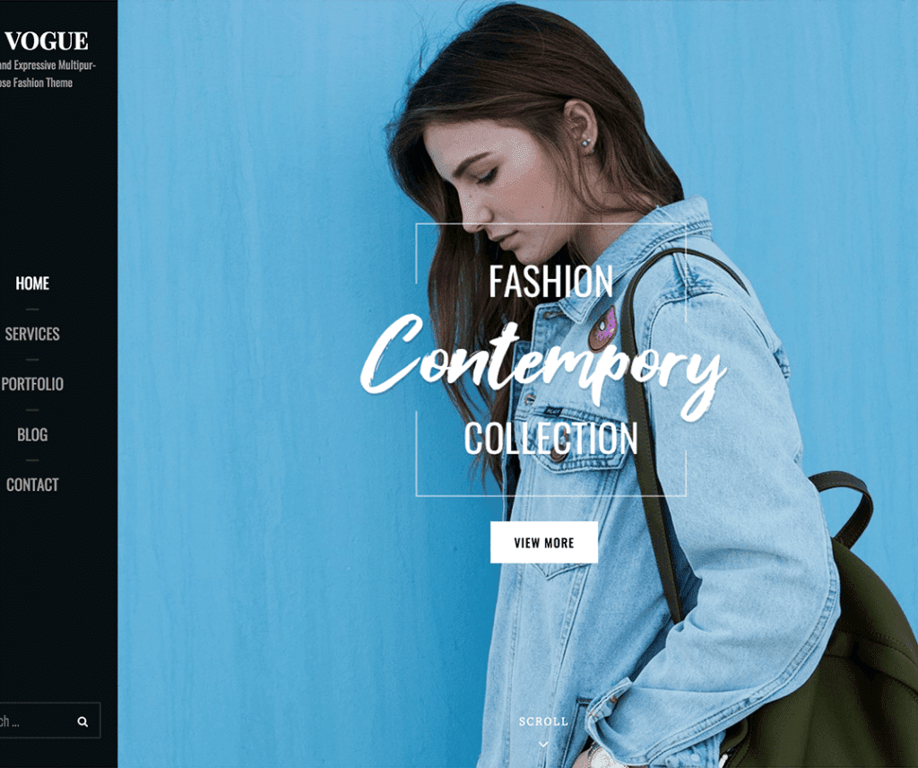CATCH VOGUE FREE PHOTOGRAPHY WORDPRESS THEME
