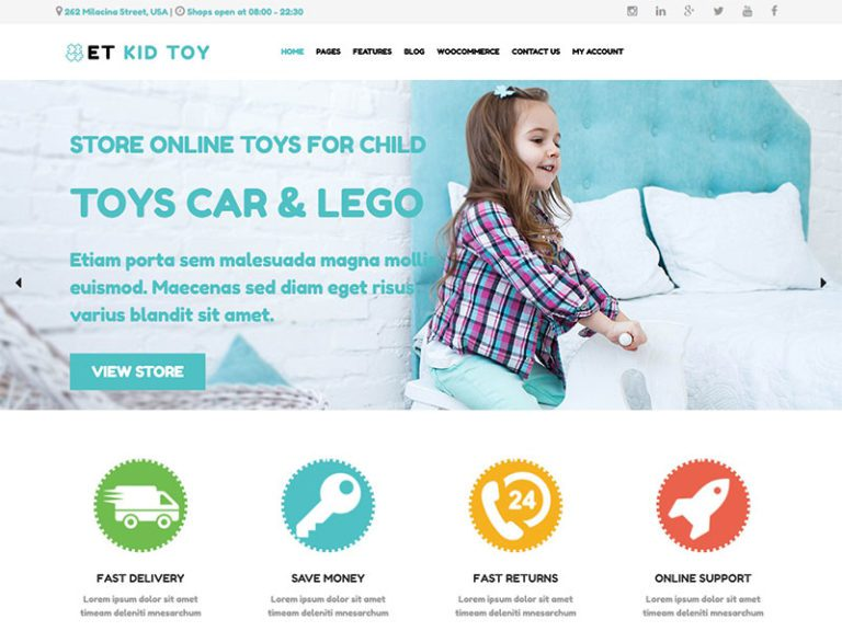 ET KID TOY FREE RESPONSIVE TOYS WORDPRESS THEME