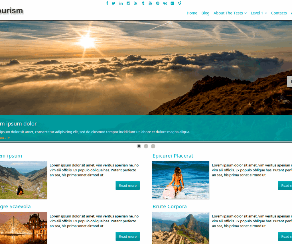 FTOURISM FREE HOLIDAY WORDPRESS THEME