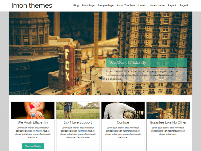 HATHOR FREE HOLIDAY WORDPRESS THEME