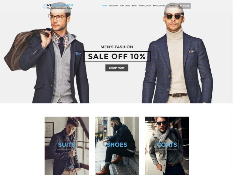 NT FASHION FREE WORDPRESS THEME FOR FASHION STORE