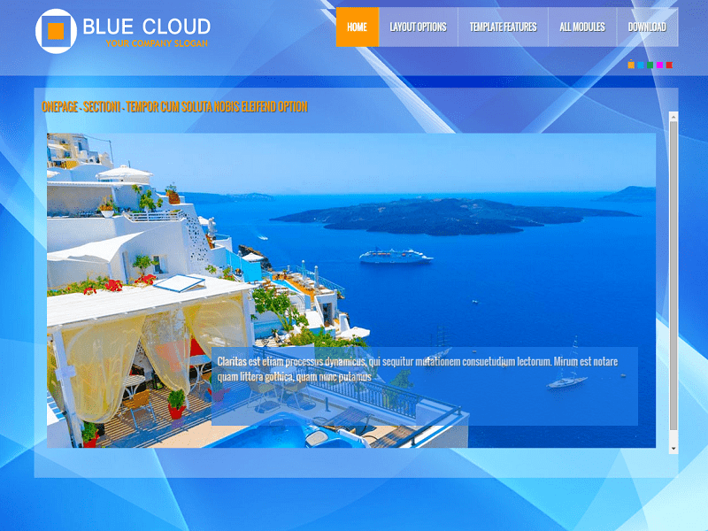 PT BLUECLOUD – FREE JOOMLA TEMPLATE FOR COMPANY
