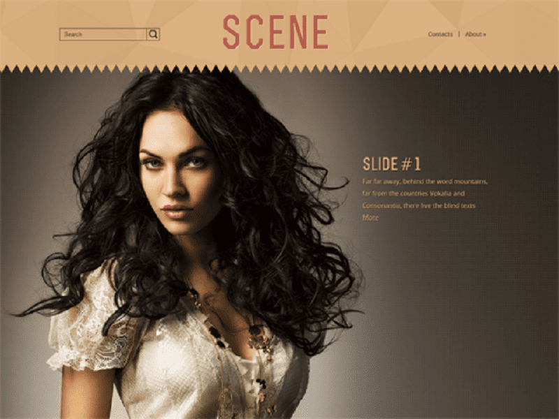 SCENE-FREE THEME WORDPRESS FOR FASHION
