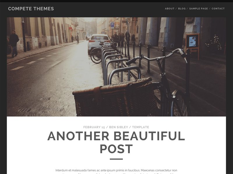 TRACKS FREE WORDPRESS THEME FOR BLOG OR MAGAZINE