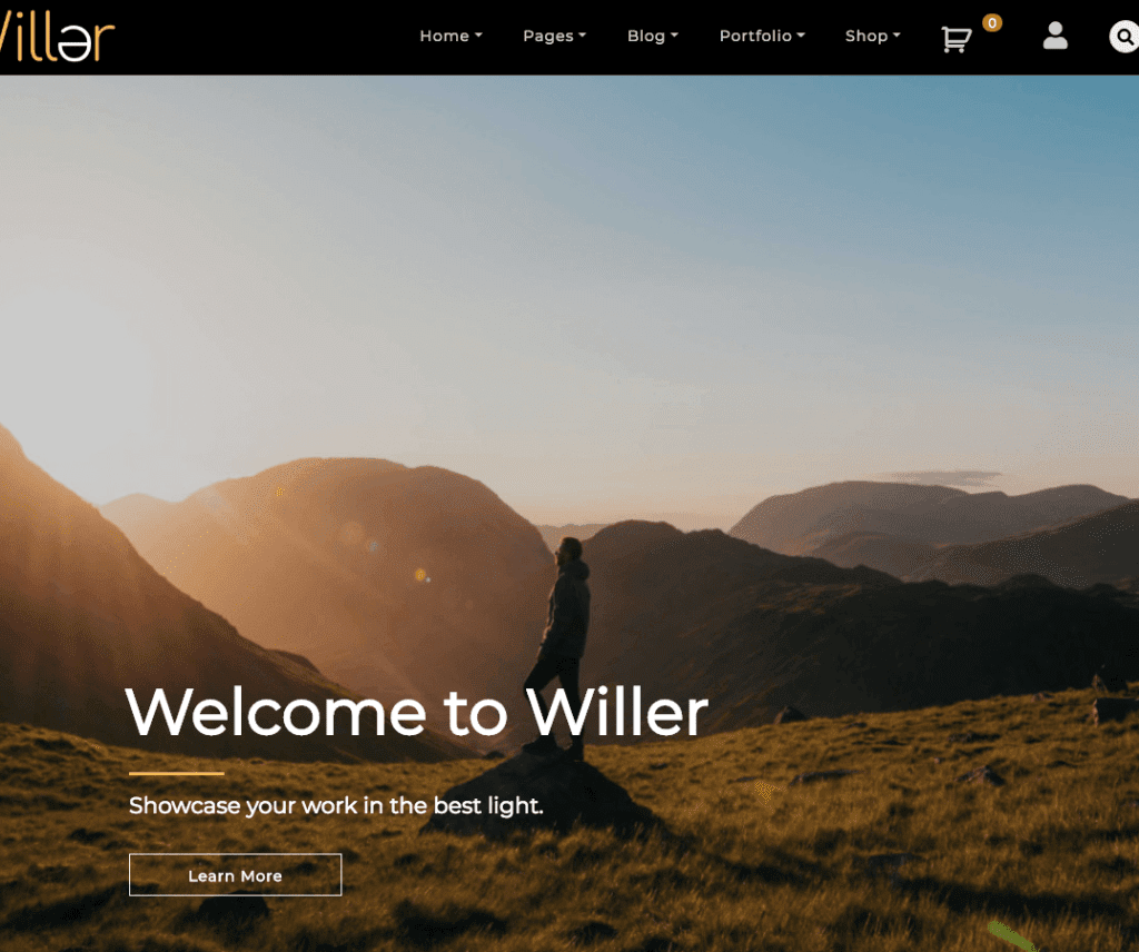 WILLER FREE BLOG WORDPRES THEME