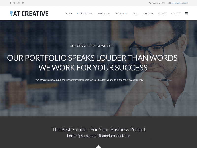 AT CREATIVE ONEPAGE – FREE IMAGE DESIGN , CREATIVE JOOMLA TEMPLATE