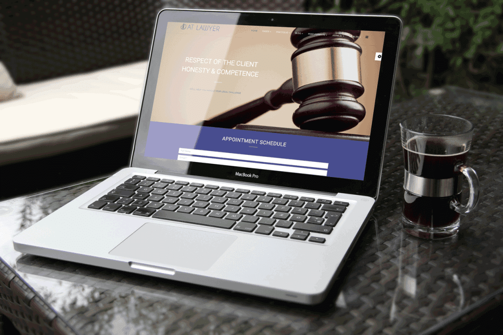 AT LAWYER – FREE LAW FIRM JOOMLA TEMPLATE