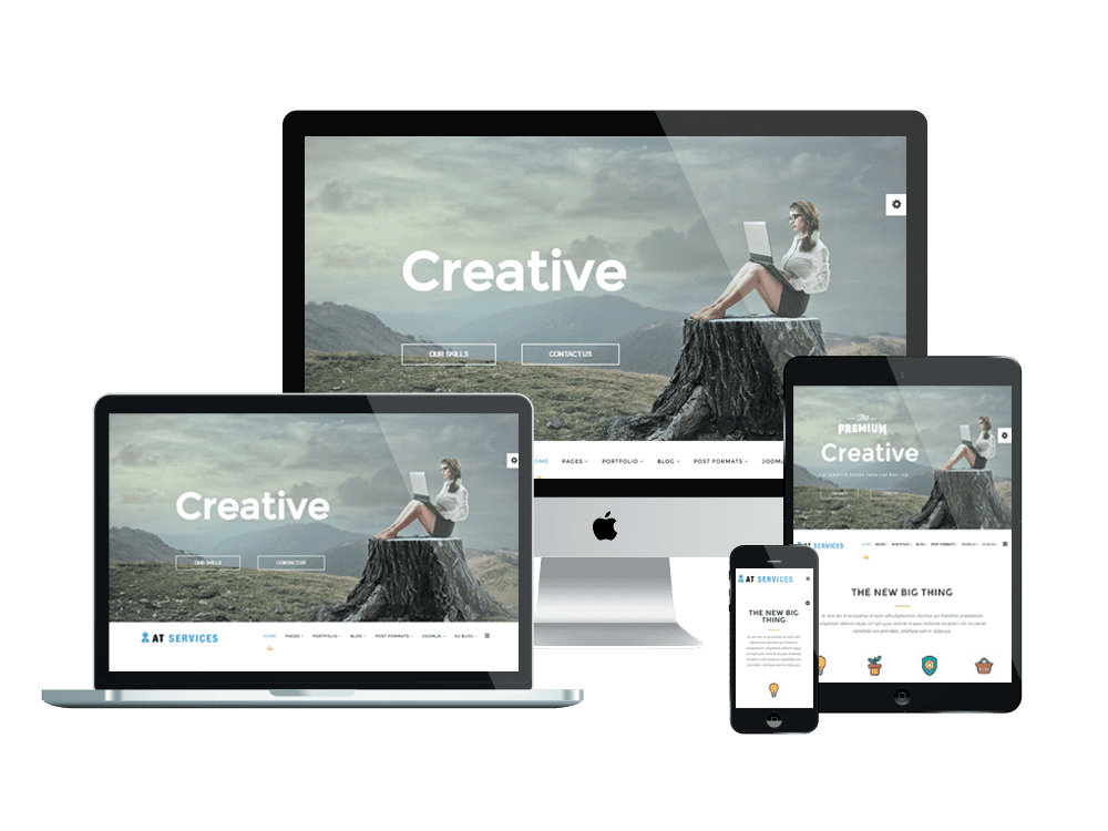 AT SERVICES FREE JOOMLA TEMPLATE FOR BUSINESS