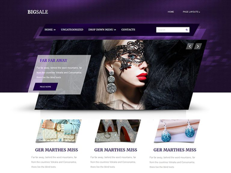 BIGSALE FREE JEWELRY WORDPRESS THEME