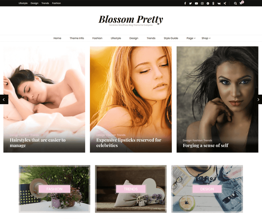 BLOSSOM PRETTY FREE PHOTOGRAPHY WORDPRESS THEME