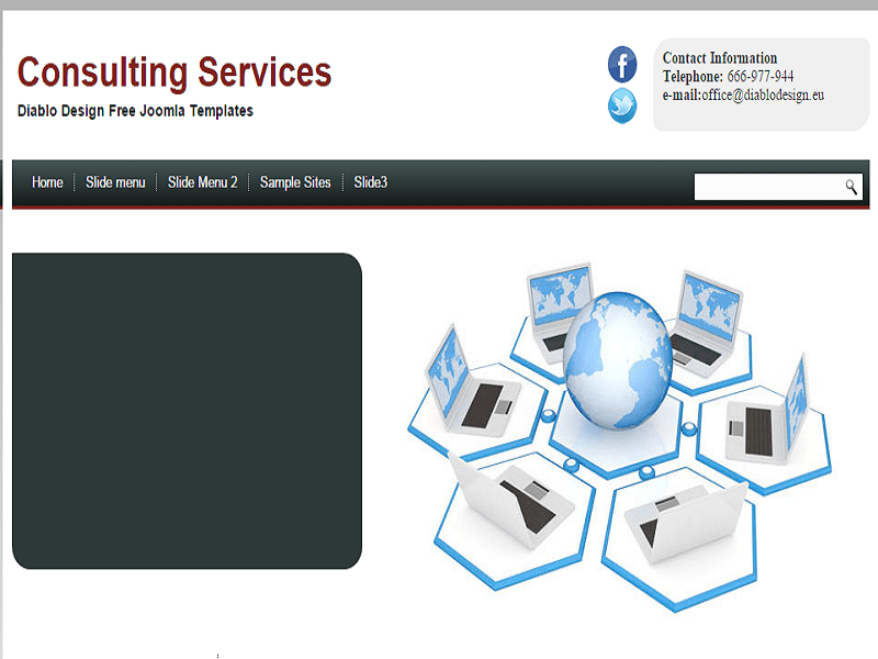 CONSULTING – JOOMLA TEMPLATE FREE FOR TEAM