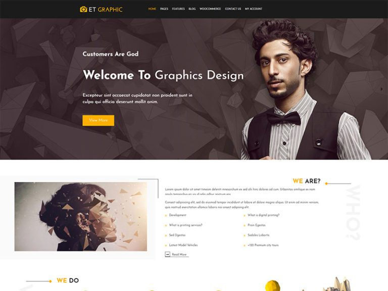 ET GRAPHIC FREE JOOMLA GRAPHIC DESIGN TEMPLATE
