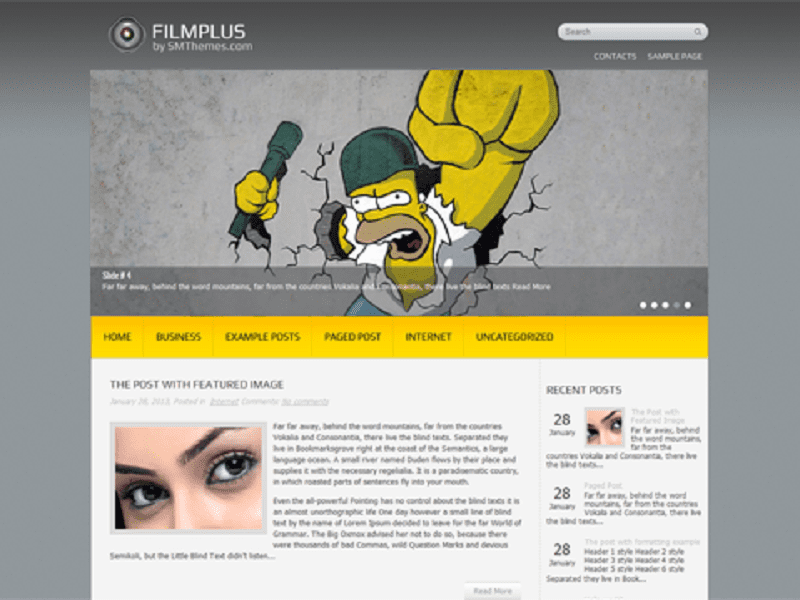 FILMPLUS-FILM WORDPRESS THEME