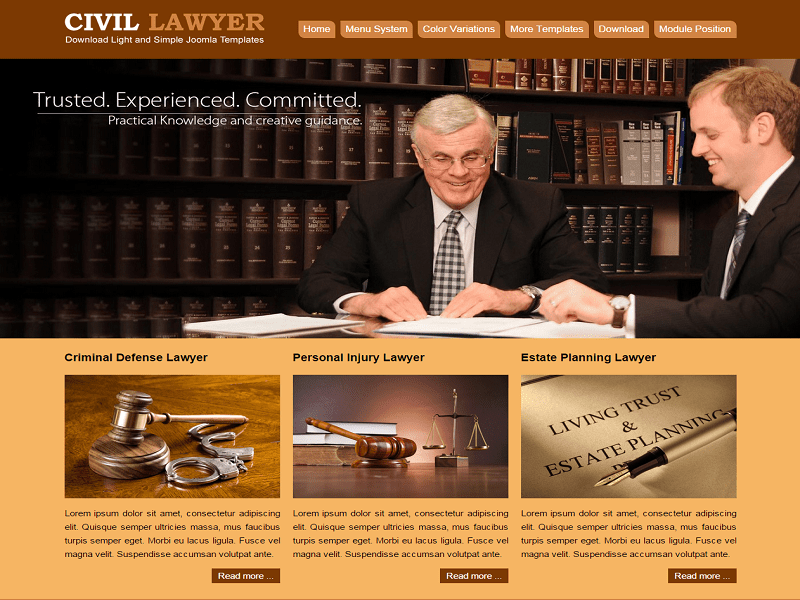 JSR CIVIL – LAWYER FREE JOOMLA TEMPLATE