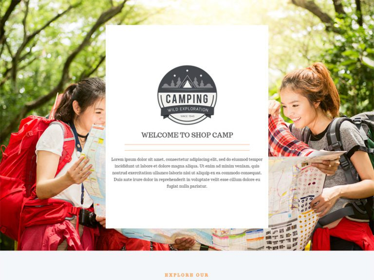 LT CAMPING FREE JOOMLA CAMPING TEMPLATE