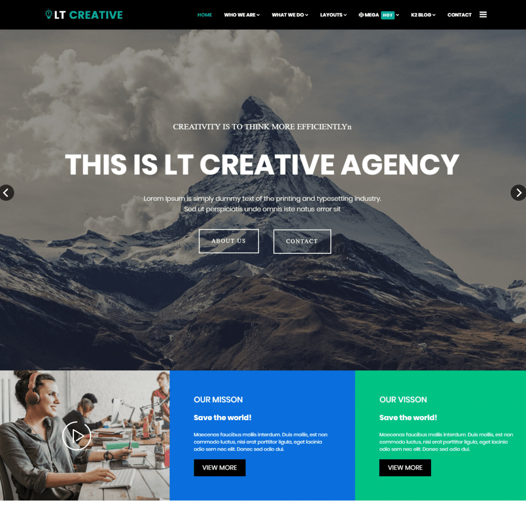 LT CREATIVE FREE JOOMLA DESIGN STUDIO TEMPLATE