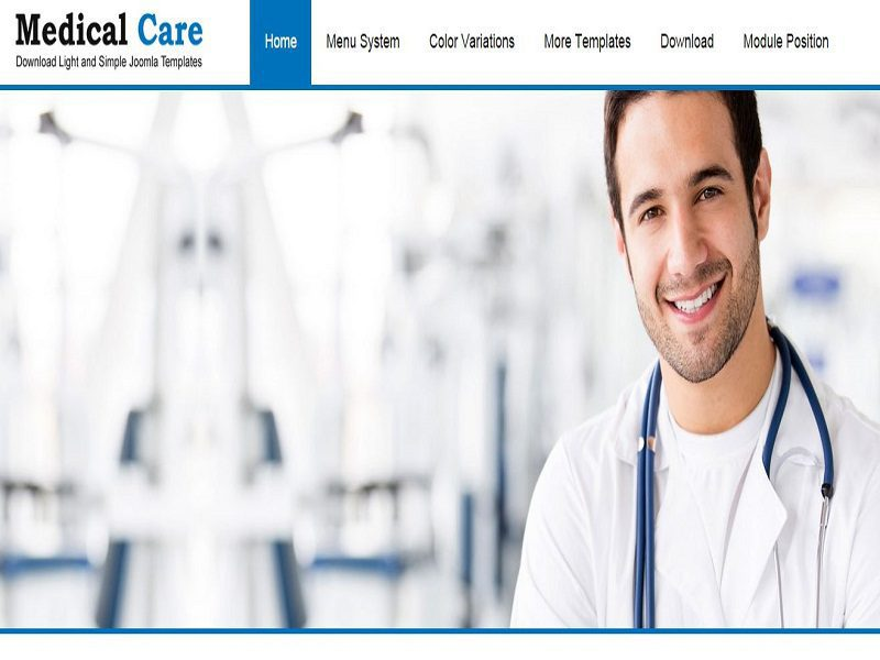 MEDICAL CARE – FREE RESPONSIVE JOOMLA TEMPLATE