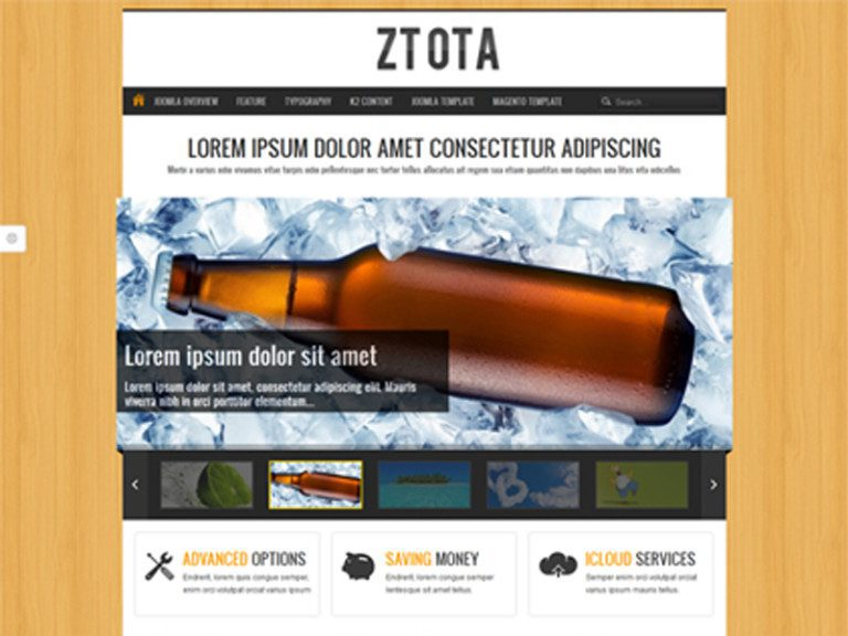 ZT OTA FREE JOOMLA TEMPLATE BUSINESS WEBSITE